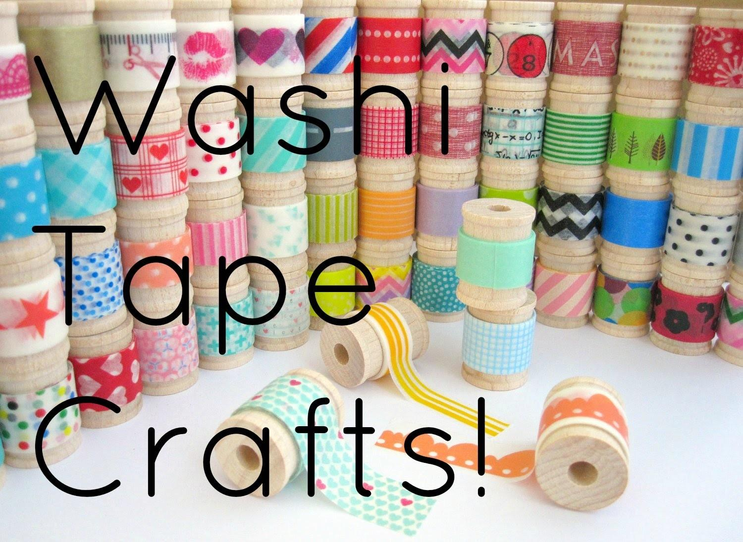 Diy Washi Tape Crafts