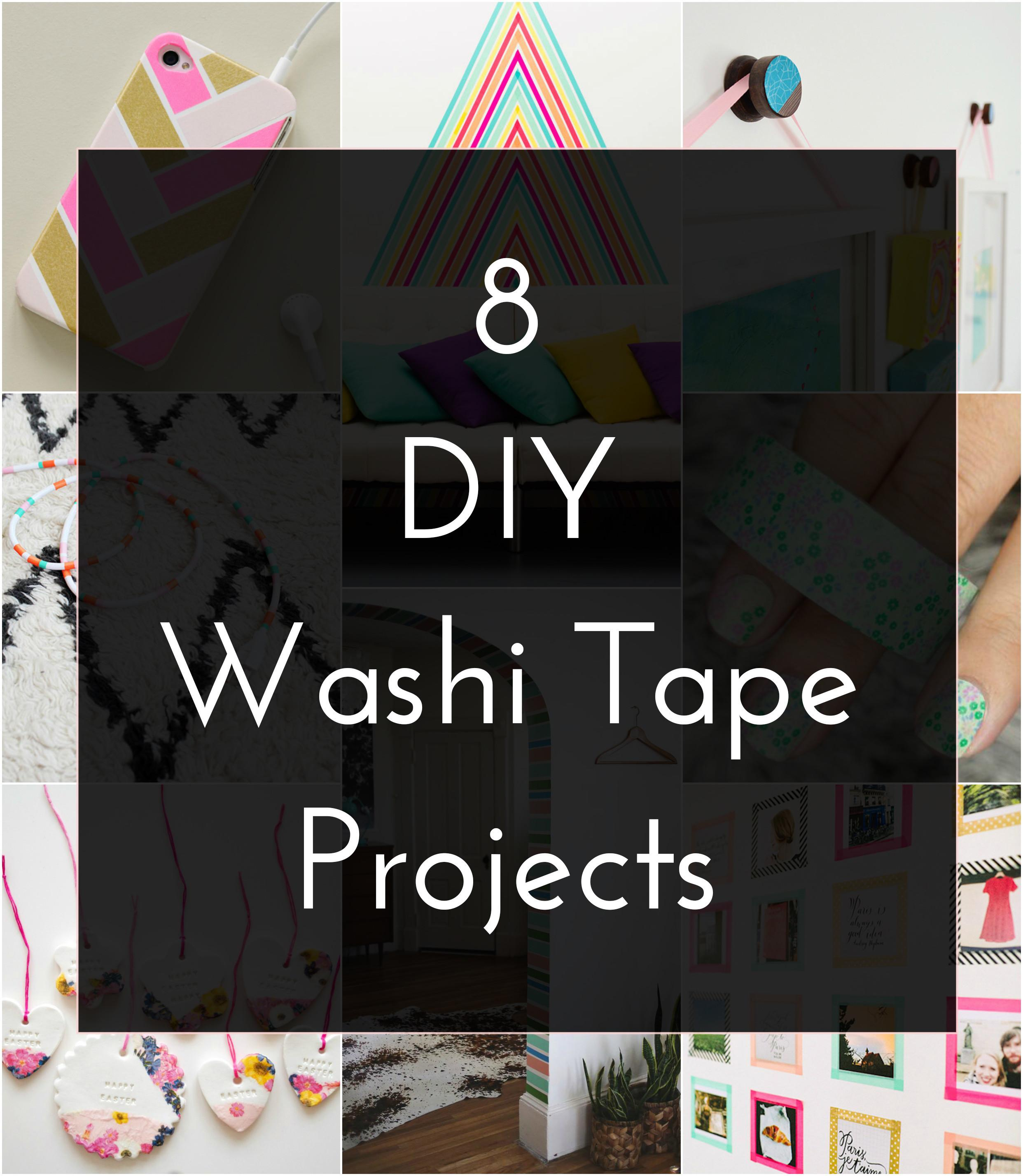 Diy Washi Tape Projects Crafted Life