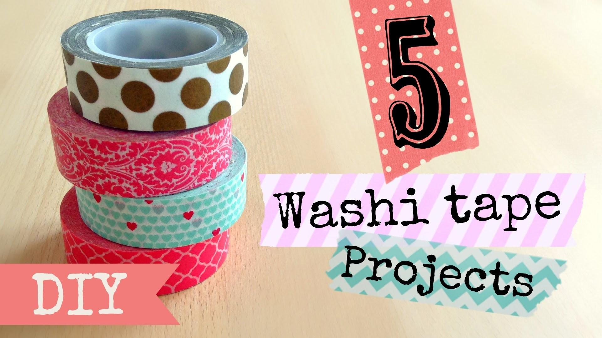 Diy Washi Tape Projects Easy