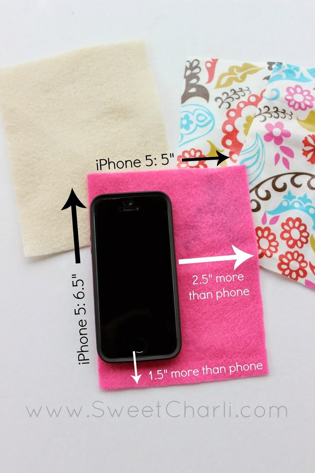 Diy Water Resistant Phone Pouch Sweet Charli