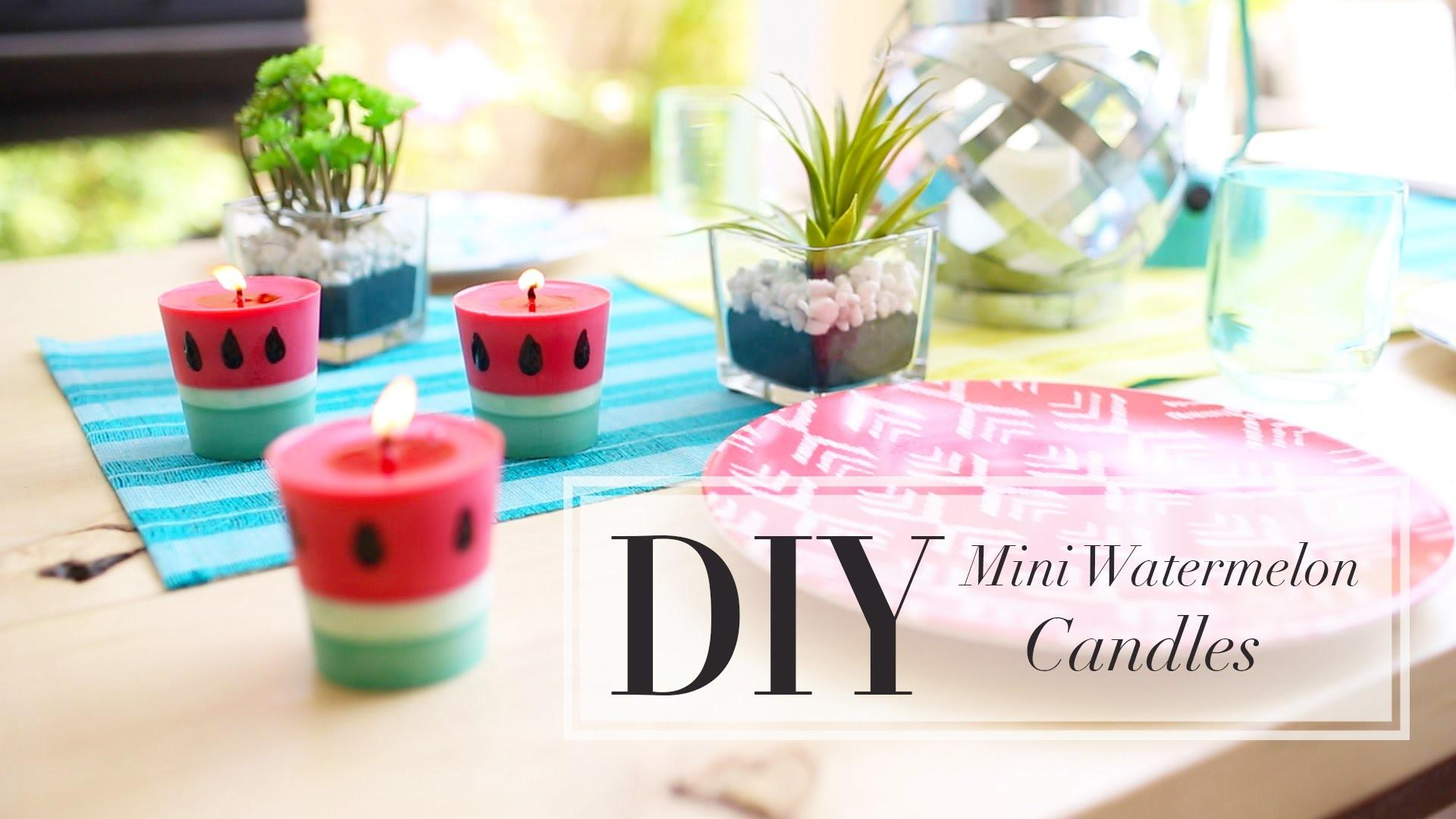 Diy Watermelon Candle Make Candles Ann