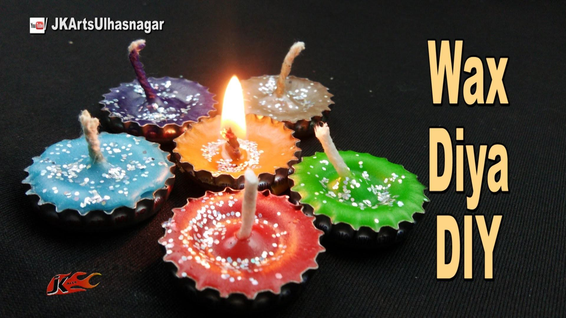 Diy Wax Candle Bottle Cap Best Out Waste