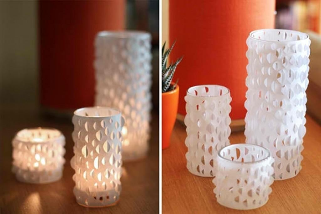 Diy Ways Personalize Your Candle Glass Holders Home