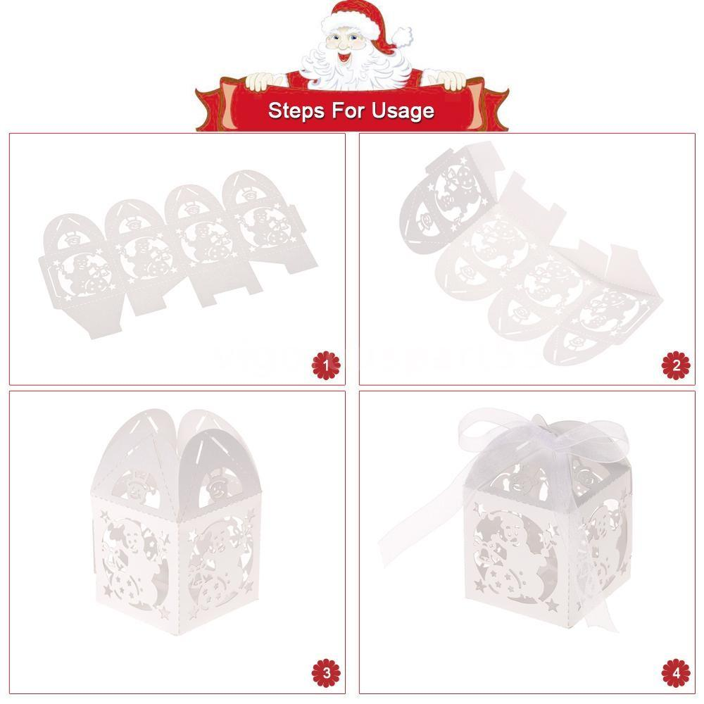 Diy Wedding Candy Cookie Gift Boxes Delicate Carved