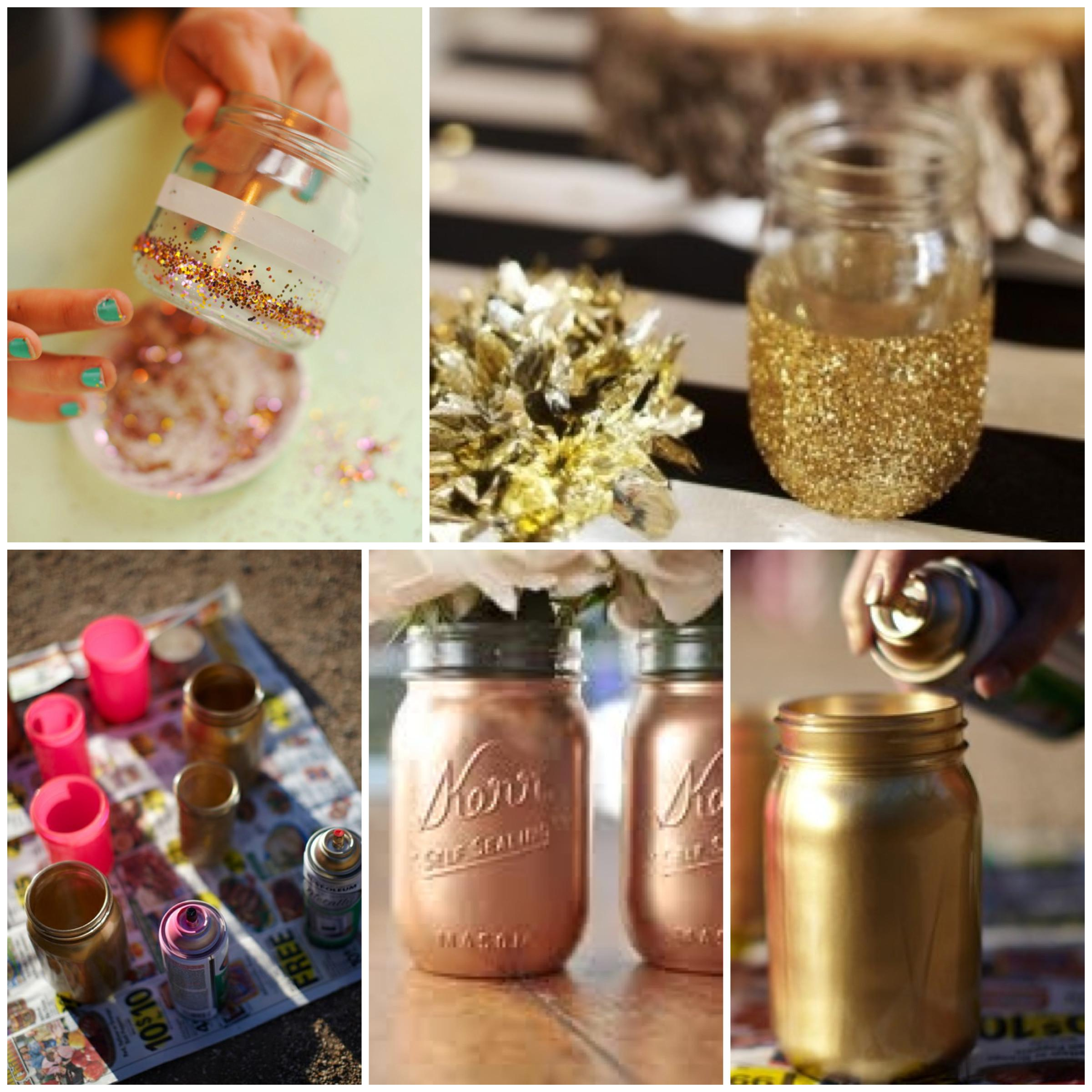 Diy Wedding Centerpieces Mason Jars Imgkid