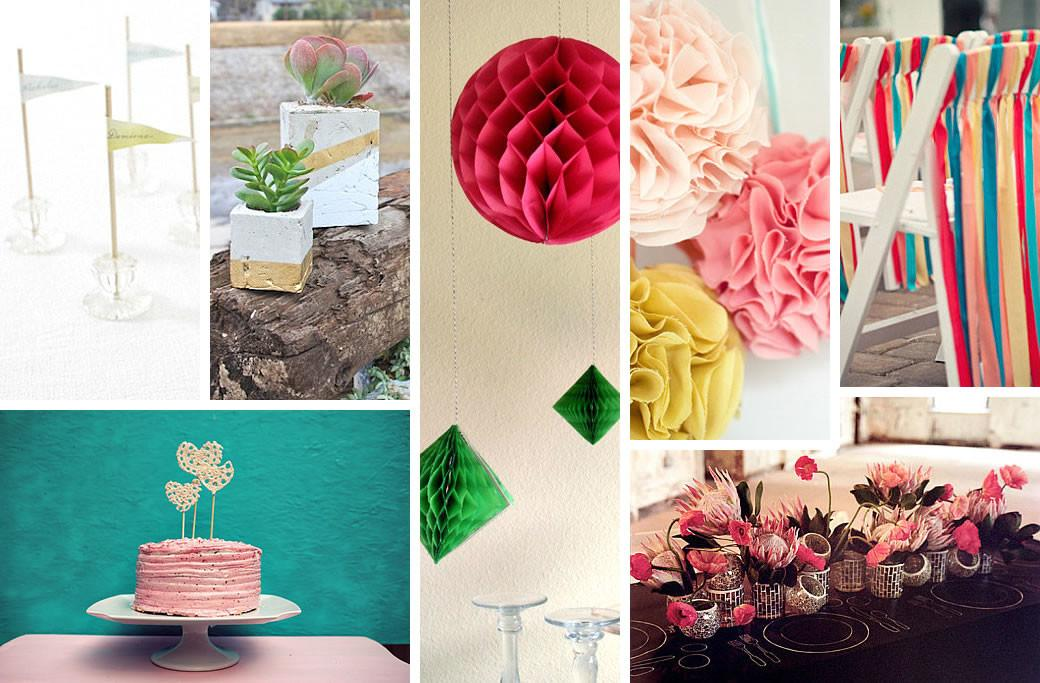 Diy Wedding Decorations Spring