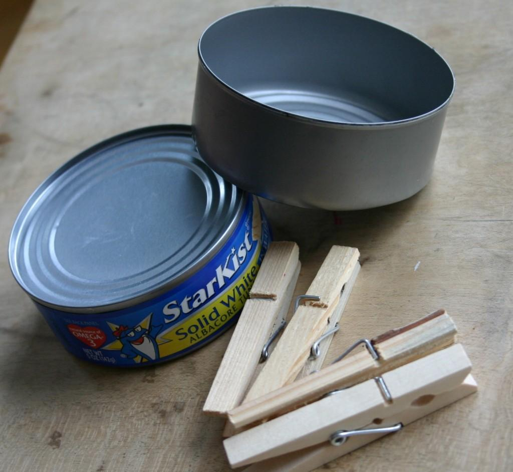Diy Weddings Crafts Clothespin Planter Candle Holder