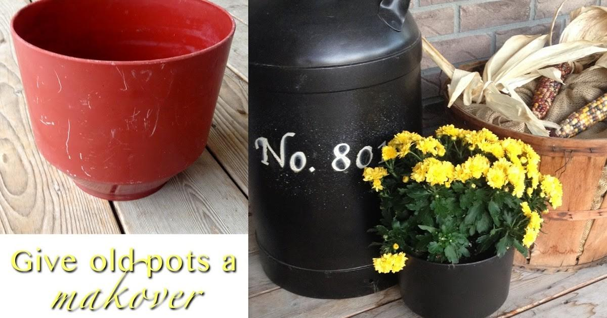 Diy Why Spend More Spray Paint Beat Pots