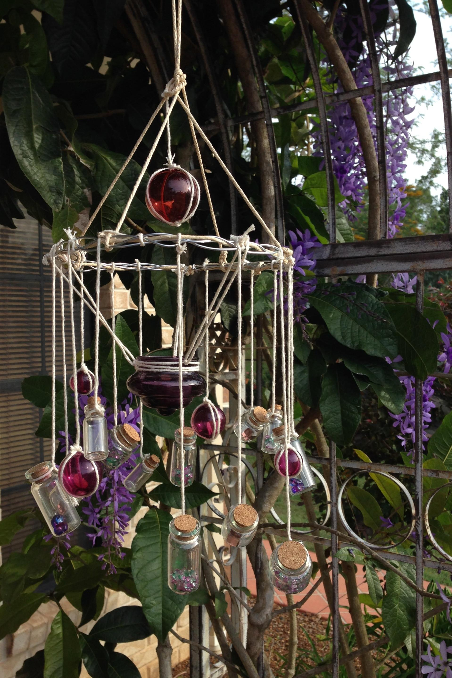 Diy Wind Chime Candelabra Sun Catcher Stay Home Life