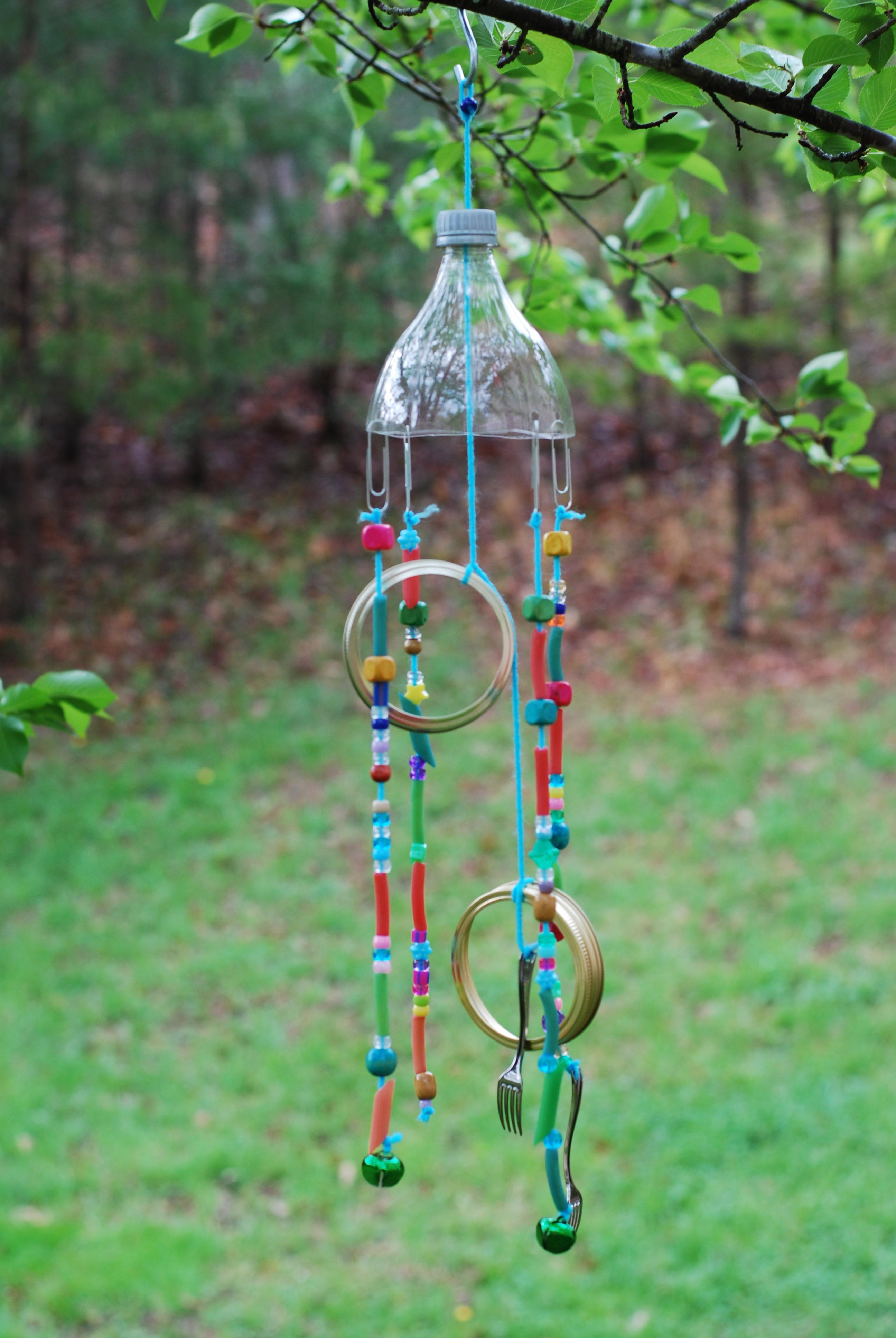 Diy Wind Chime Clay Center Ventures