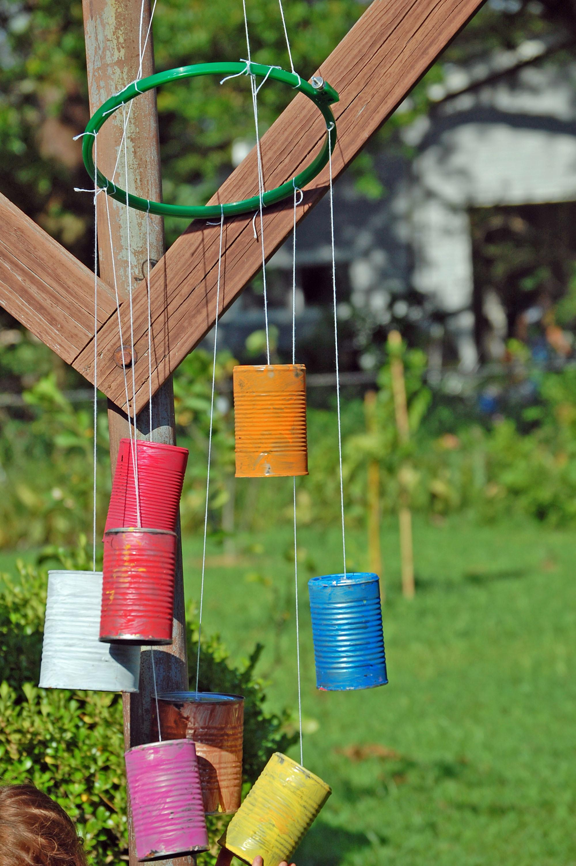 Diy Wind Chime Kids Cage Mom