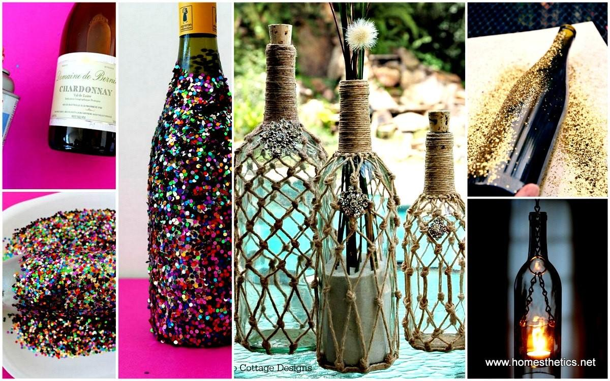 Diy Wine Bottle Projects Ideas Should