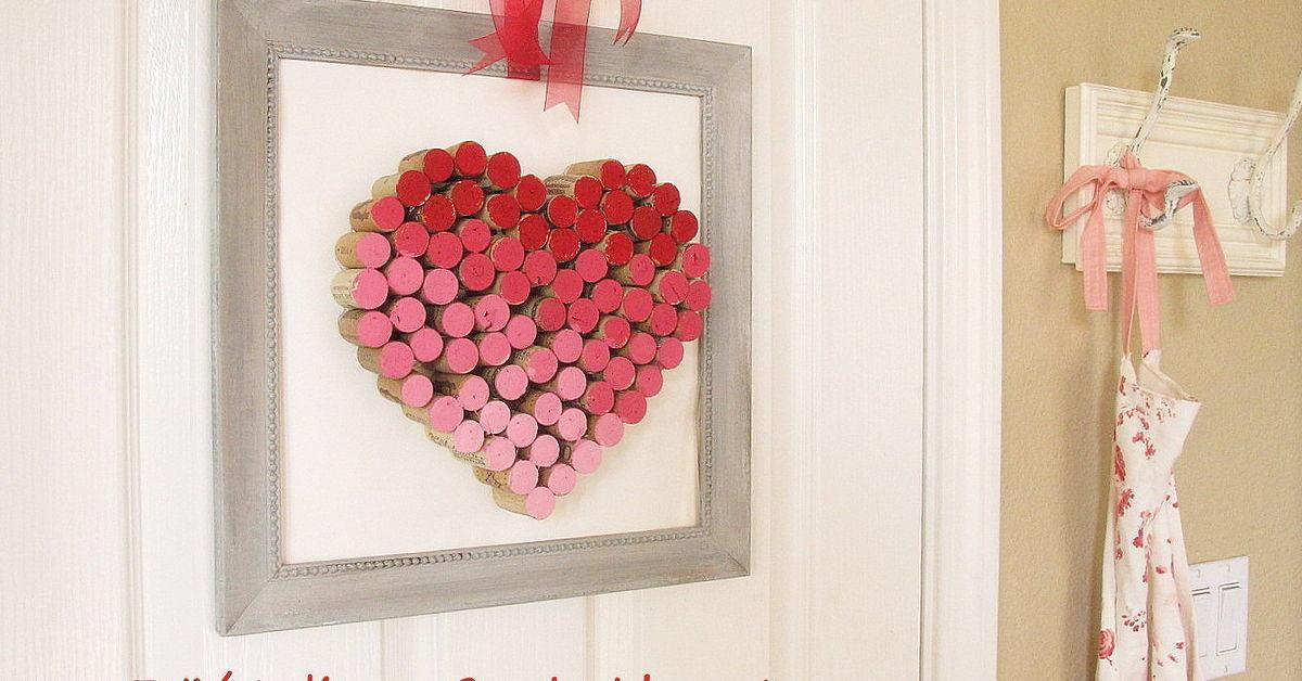 Diy Wine Cork Heart Hometalk