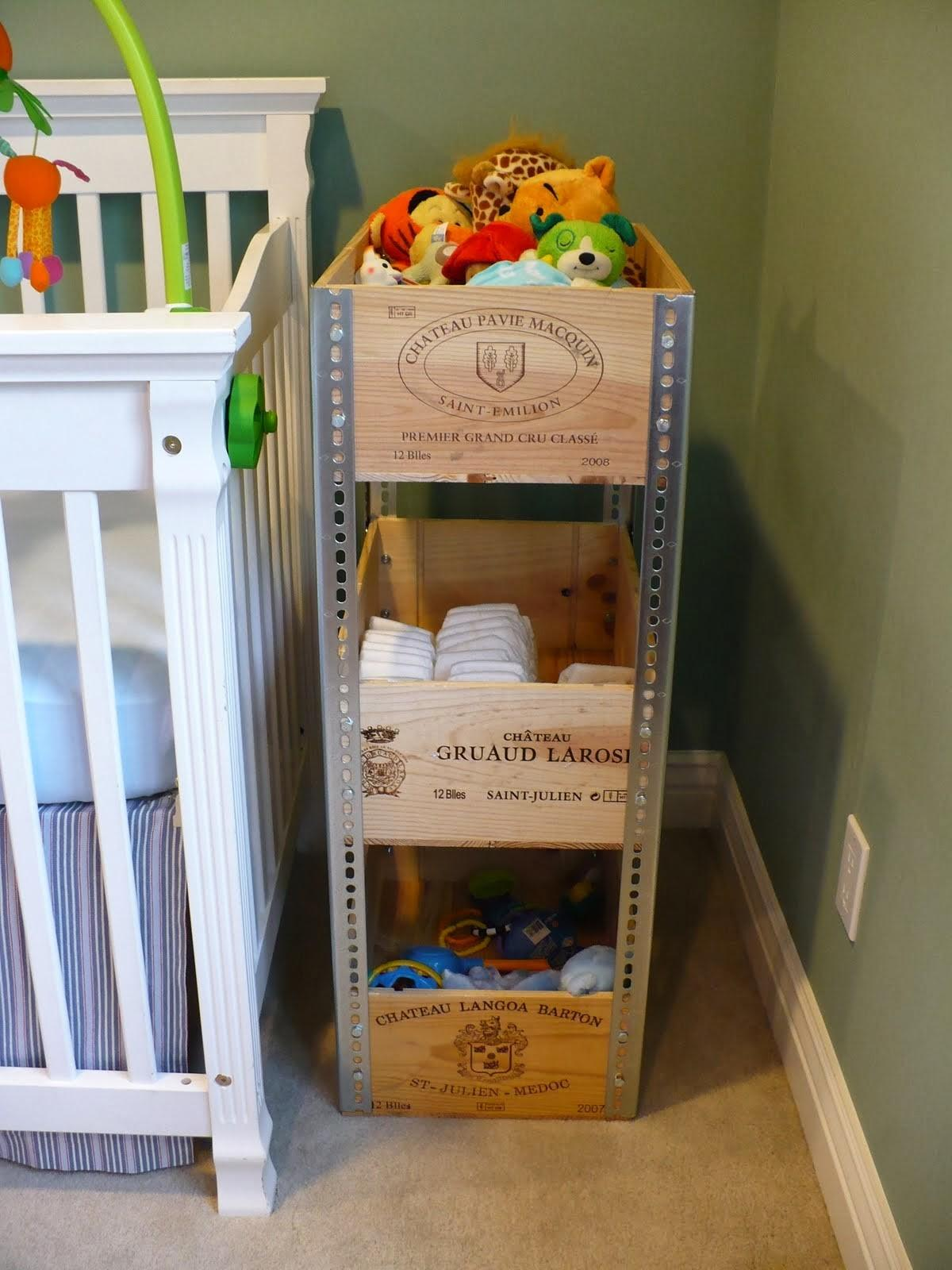 Diy Wine Crate Shelves Craft Projects