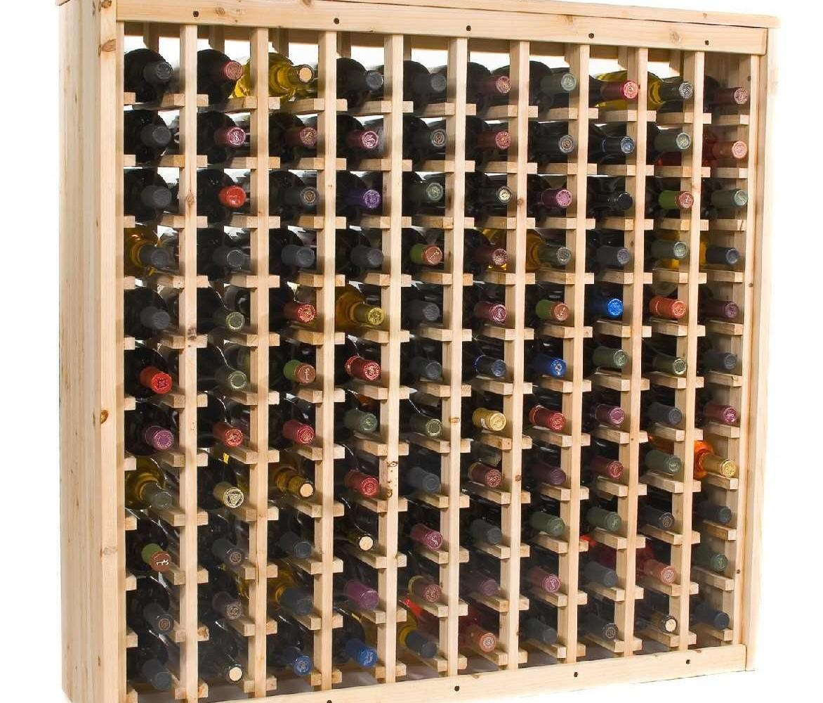 Diy Wine Rack Pallet Fanciful Afternoon