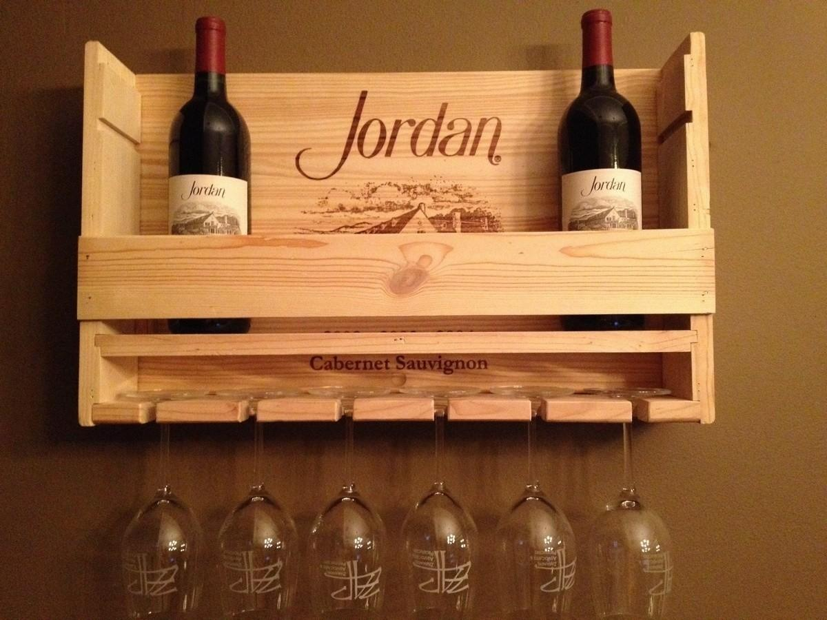 Diy Wine Rack Pallet Fanciful Afternoon - Decoratorist - #53701