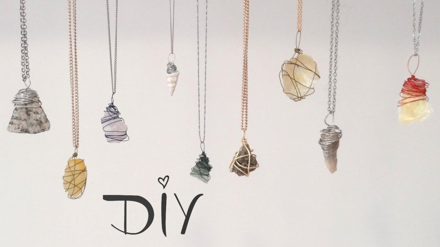 Diy Wire Wrapped Pendant Ways