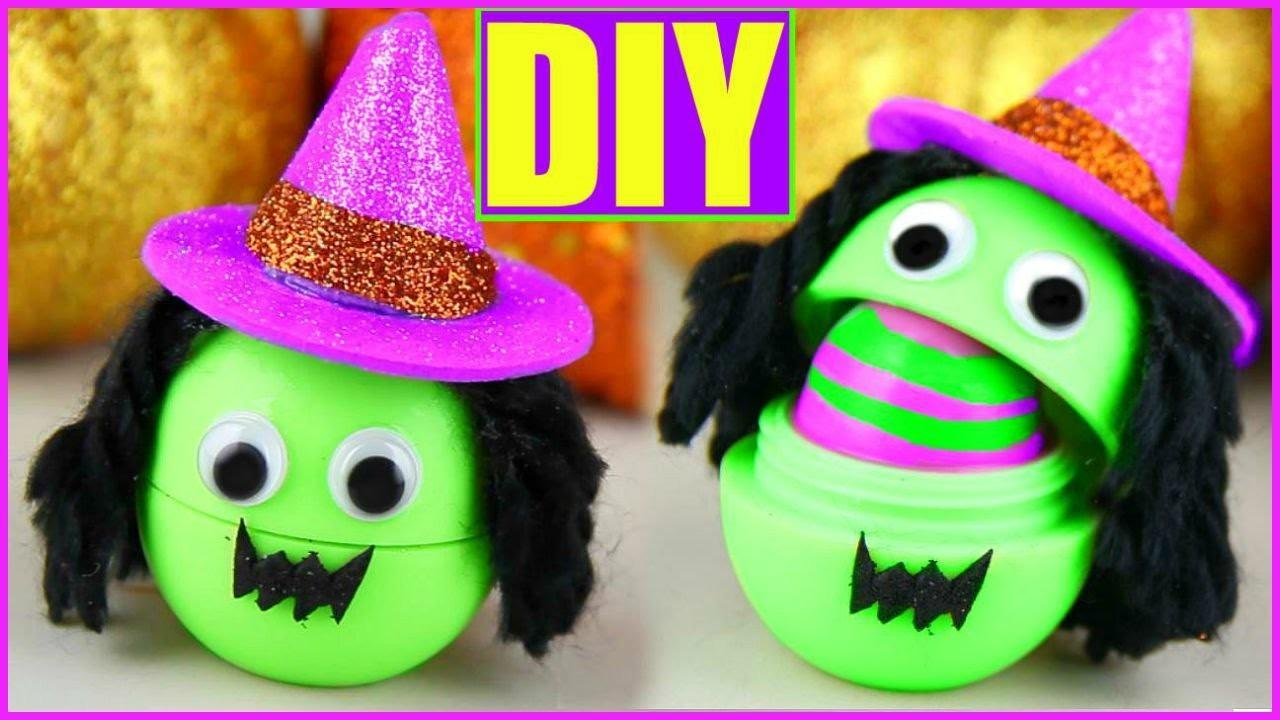 Diy Witch Eos Make Cute Halloween Lip Balms