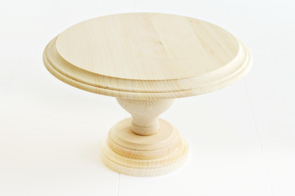 Diy Wood Cake Stand Heart Nap Time