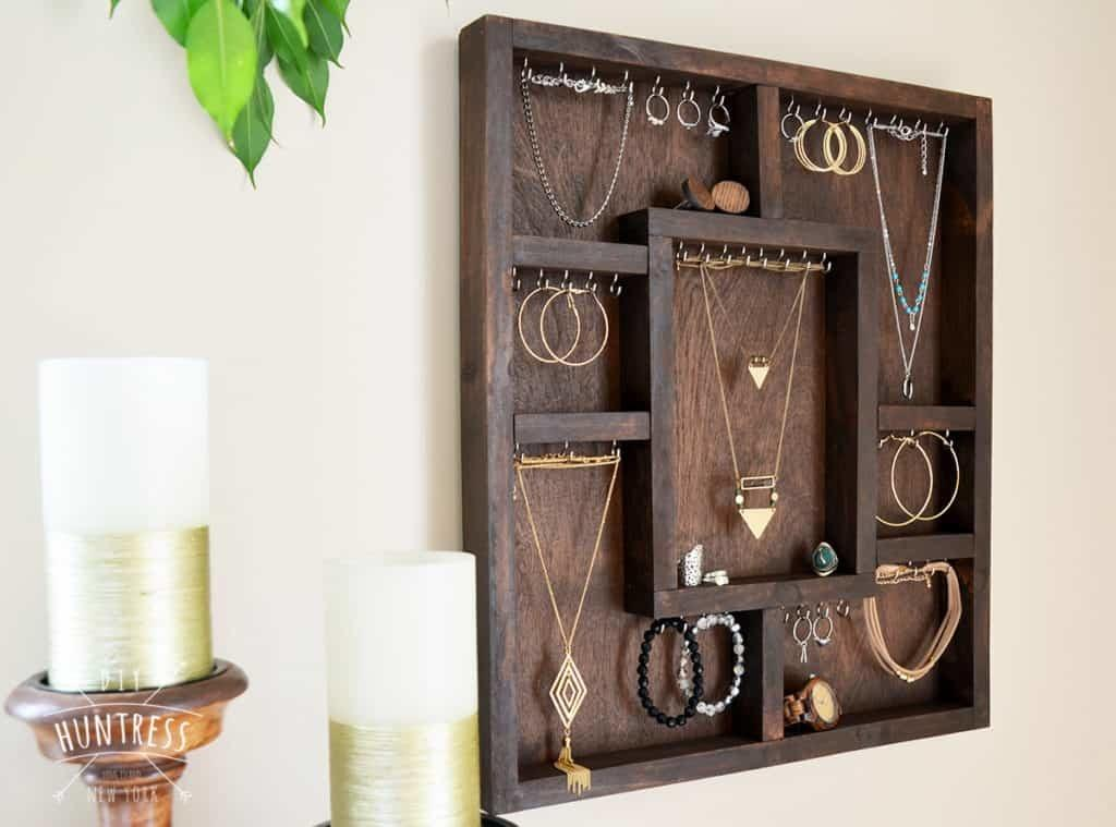 Diy Wood Jewelry Holder Ufafokus