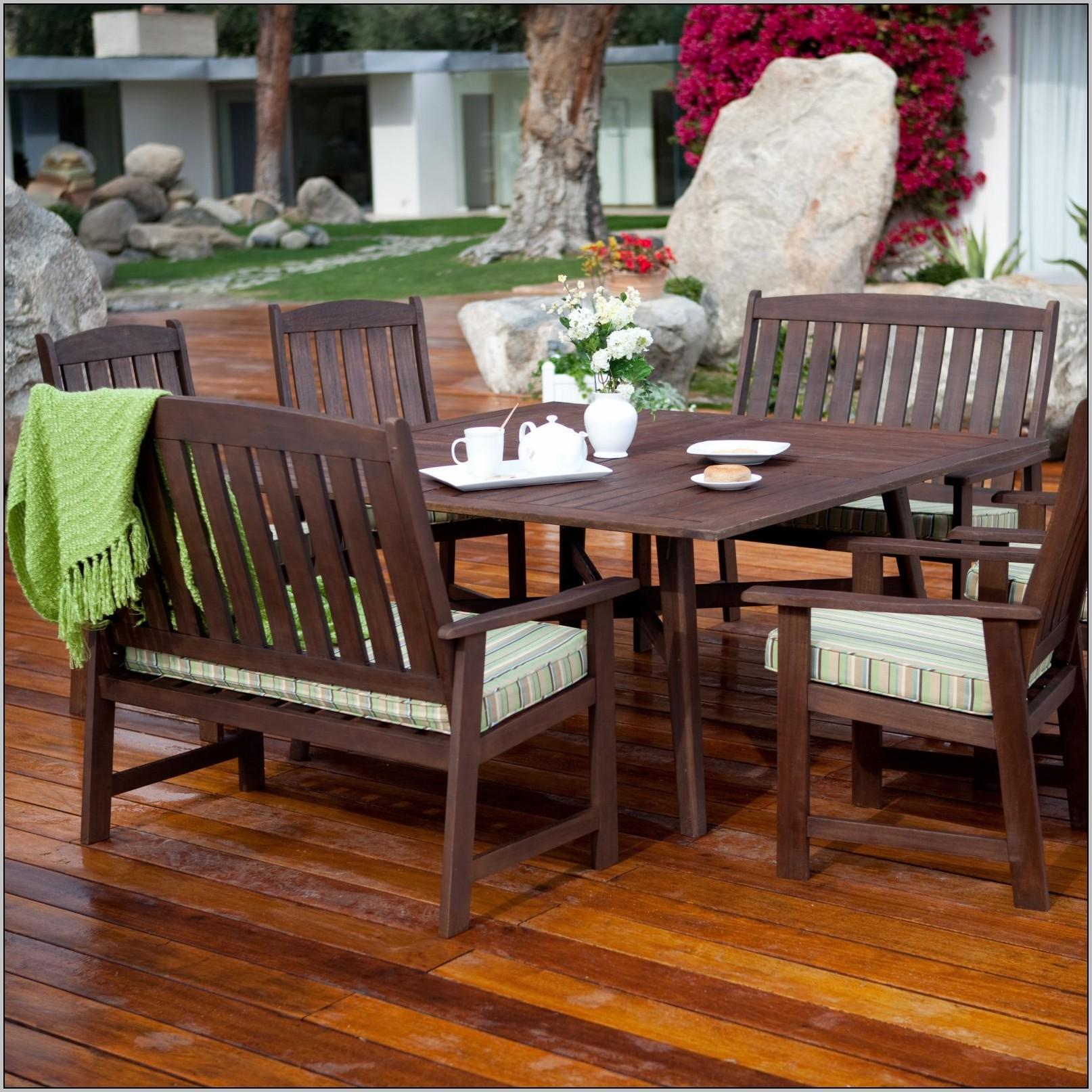 Diy Wood Patio Furniture Patios Home Decorating Ideas