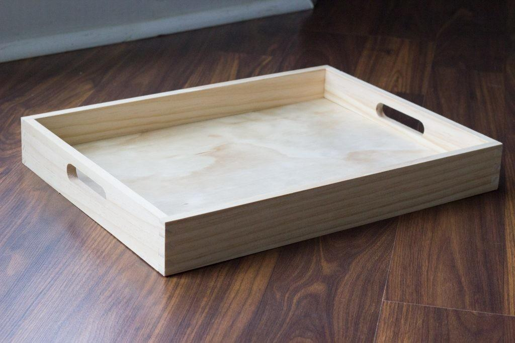 Diy Wood Serving Tray Your Self