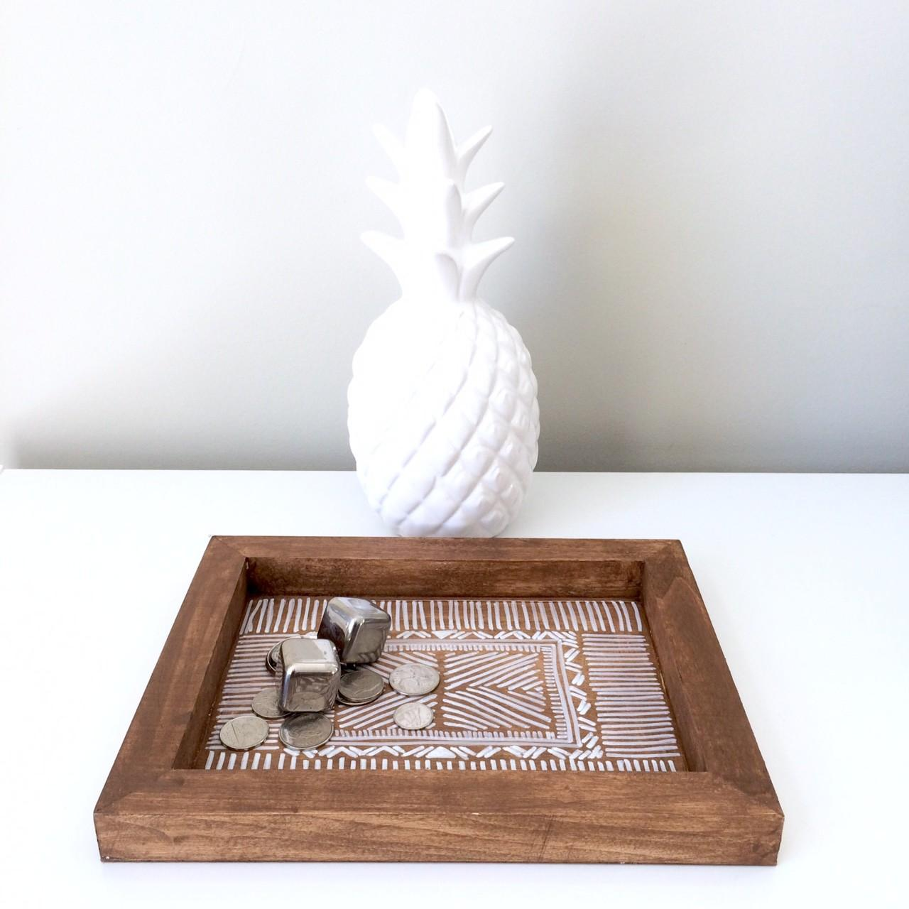 Diy Wooden Aztec Tray Harlow Thistle Home Design