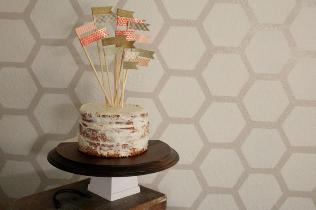 Diy Wooden Cake Stand Within Grove