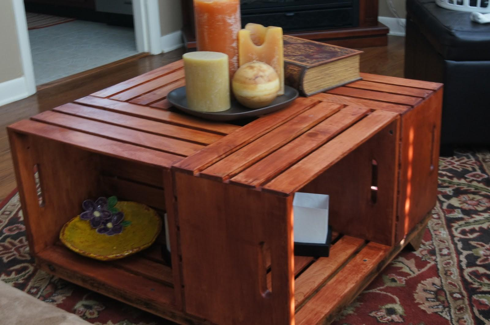Diy Wooden Crate Coffee Table Quick