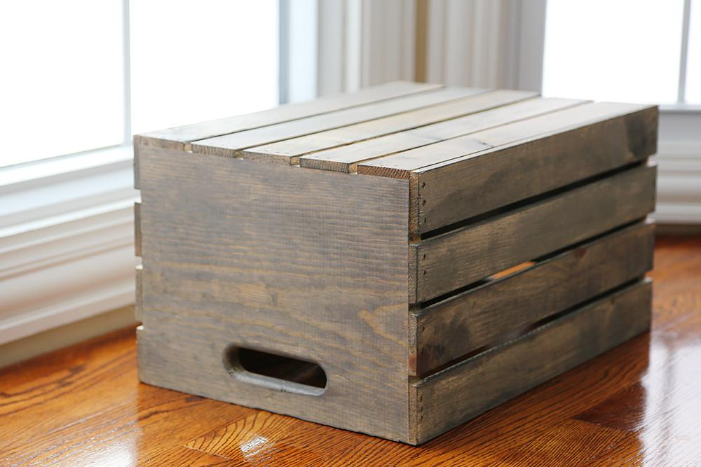 Diy Wooden Crate Live Ideas