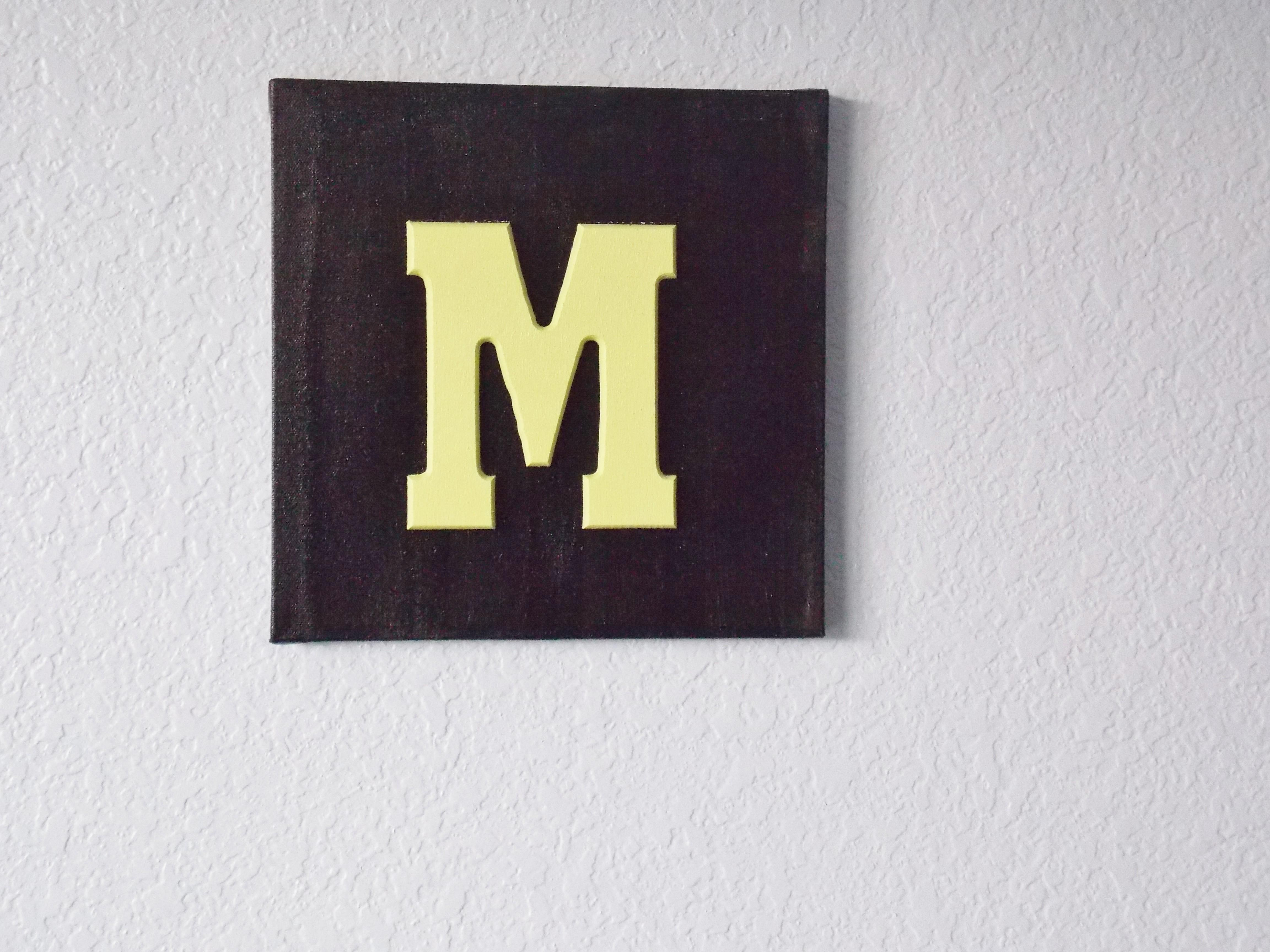 Diy Wooden Letters Canvas Why Buy