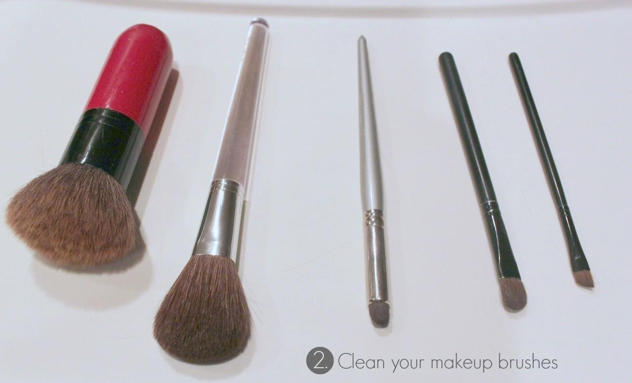 Diy Wooden Makeup Brush Stand Family Jewels