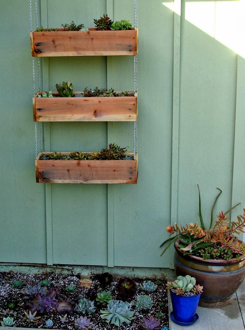 Diy Wooden Planter Boxes Your Yard Patio