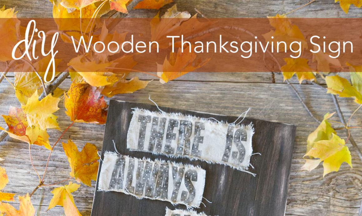 Diy Wooden Thanksgiving Sign Creative Studio