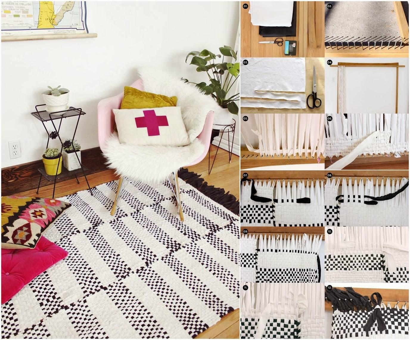 Diy Woven Rug Craft Projects