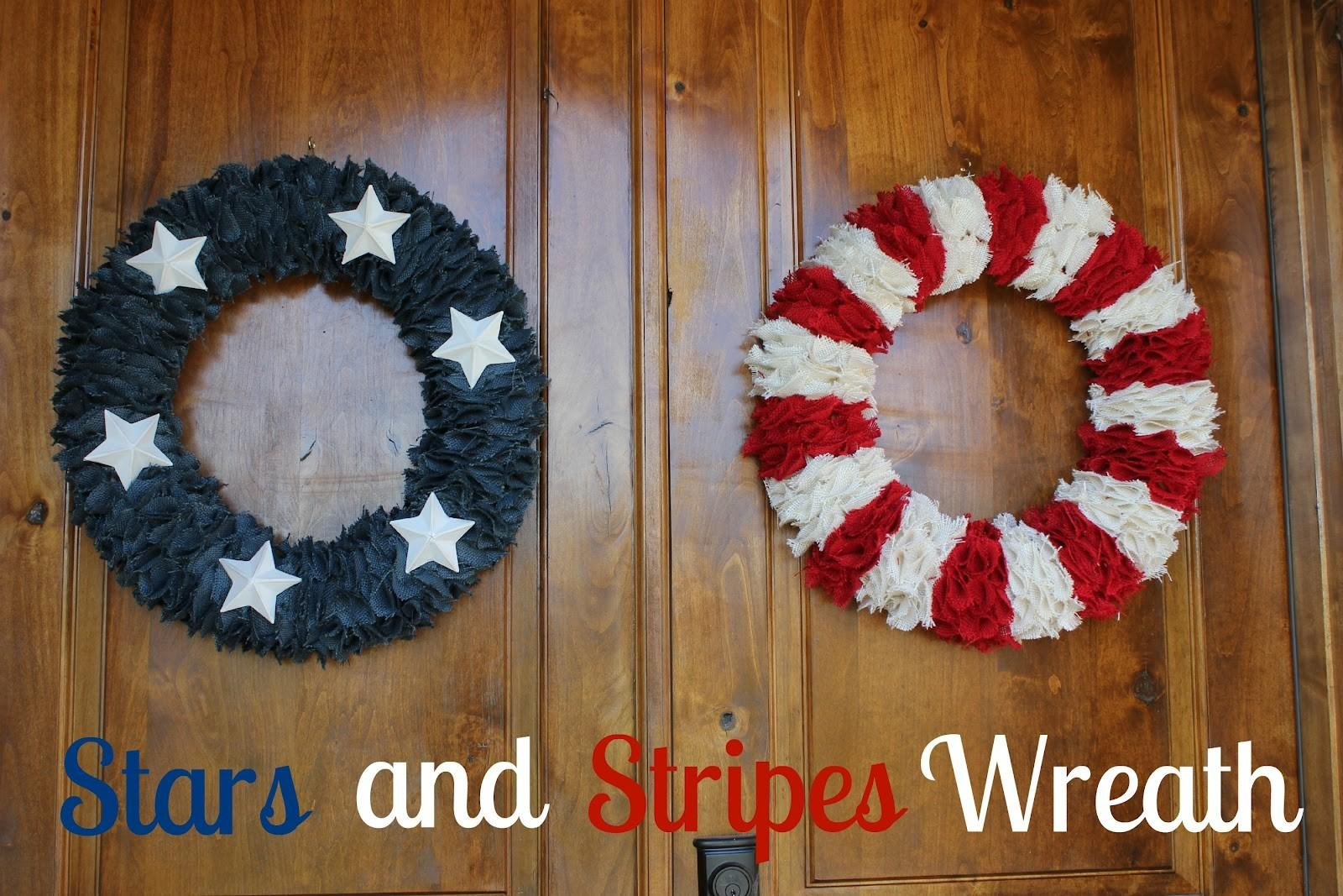 Diy Wreaths 4th July Home Stories
