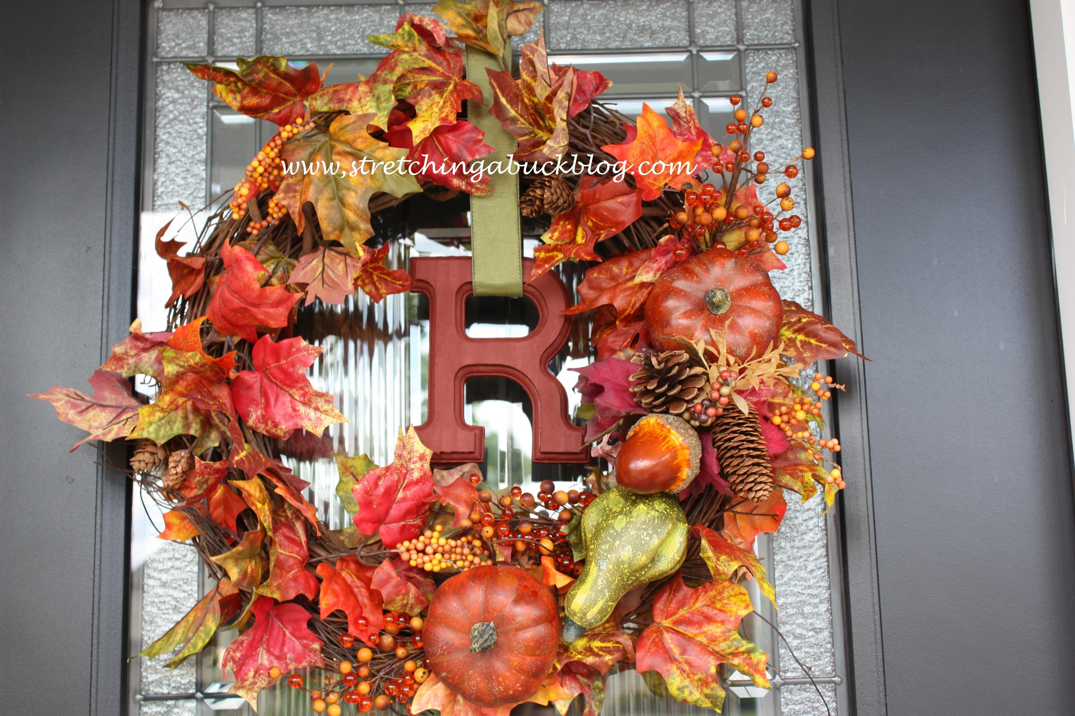 Diy Wreaths Front Door Fall Projects