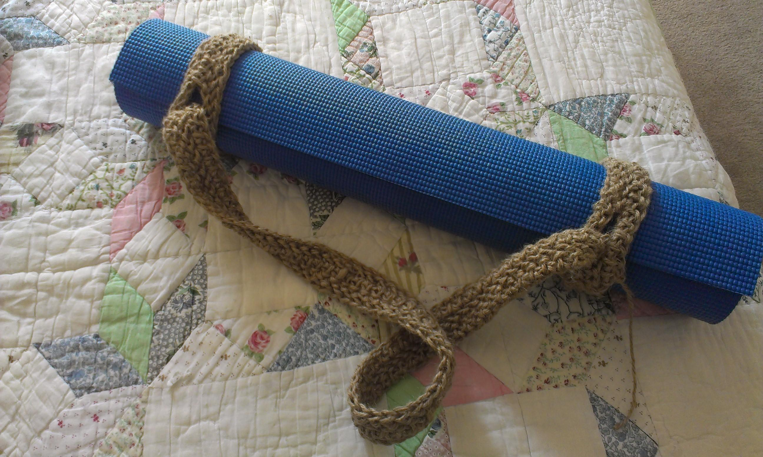 Diy Yoga Mat Carrying Straps Craftbnb