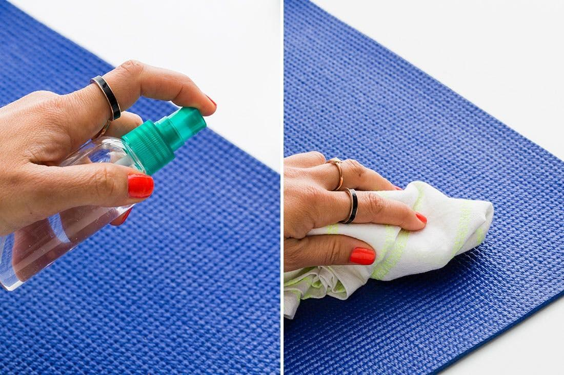 Diy Yoga Mat Cleaner Minutes Brit