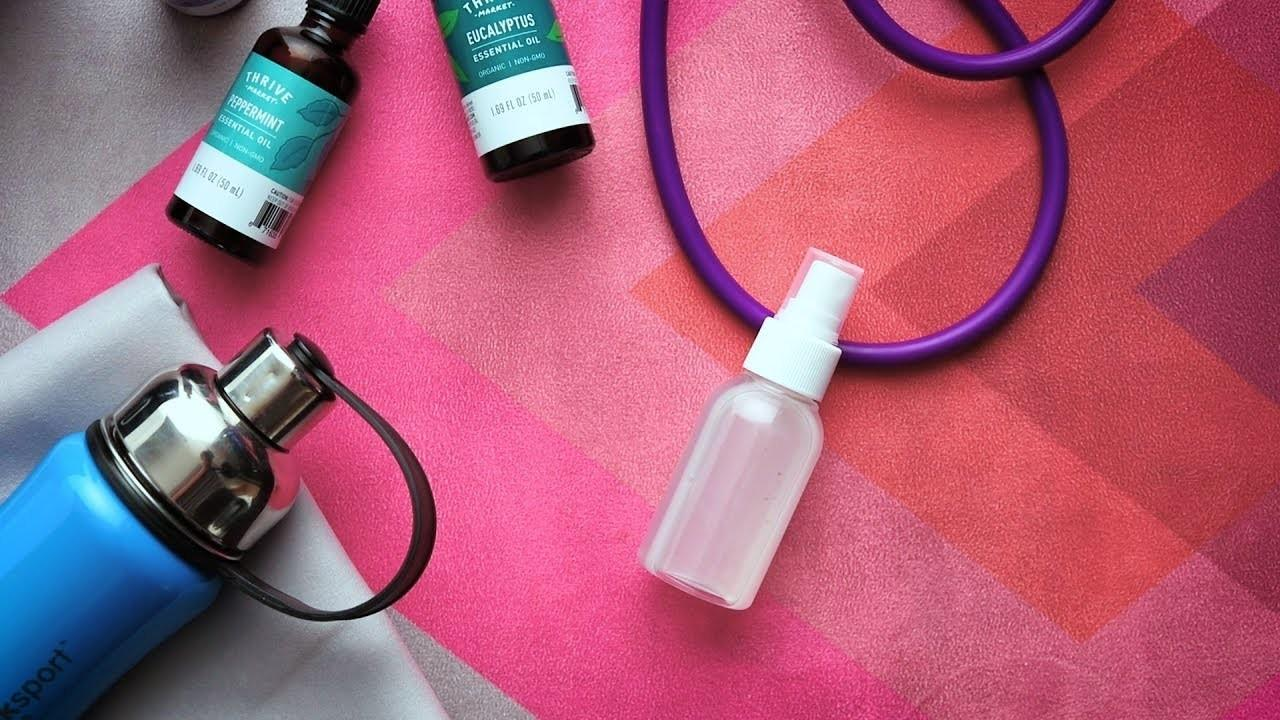 Diy Yoga Mat Cleaning Spray Crafts Projects