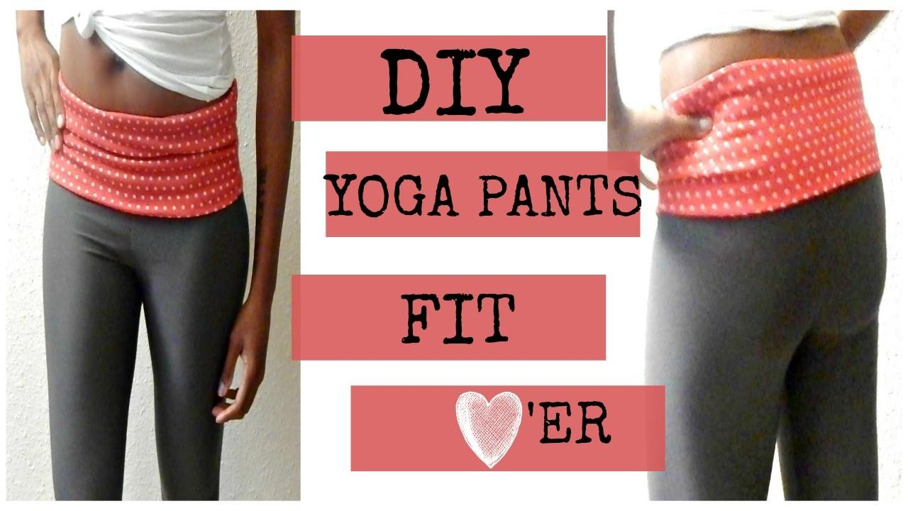 Diy Yoga Pants Easy Beginner Sew Crafts Glory