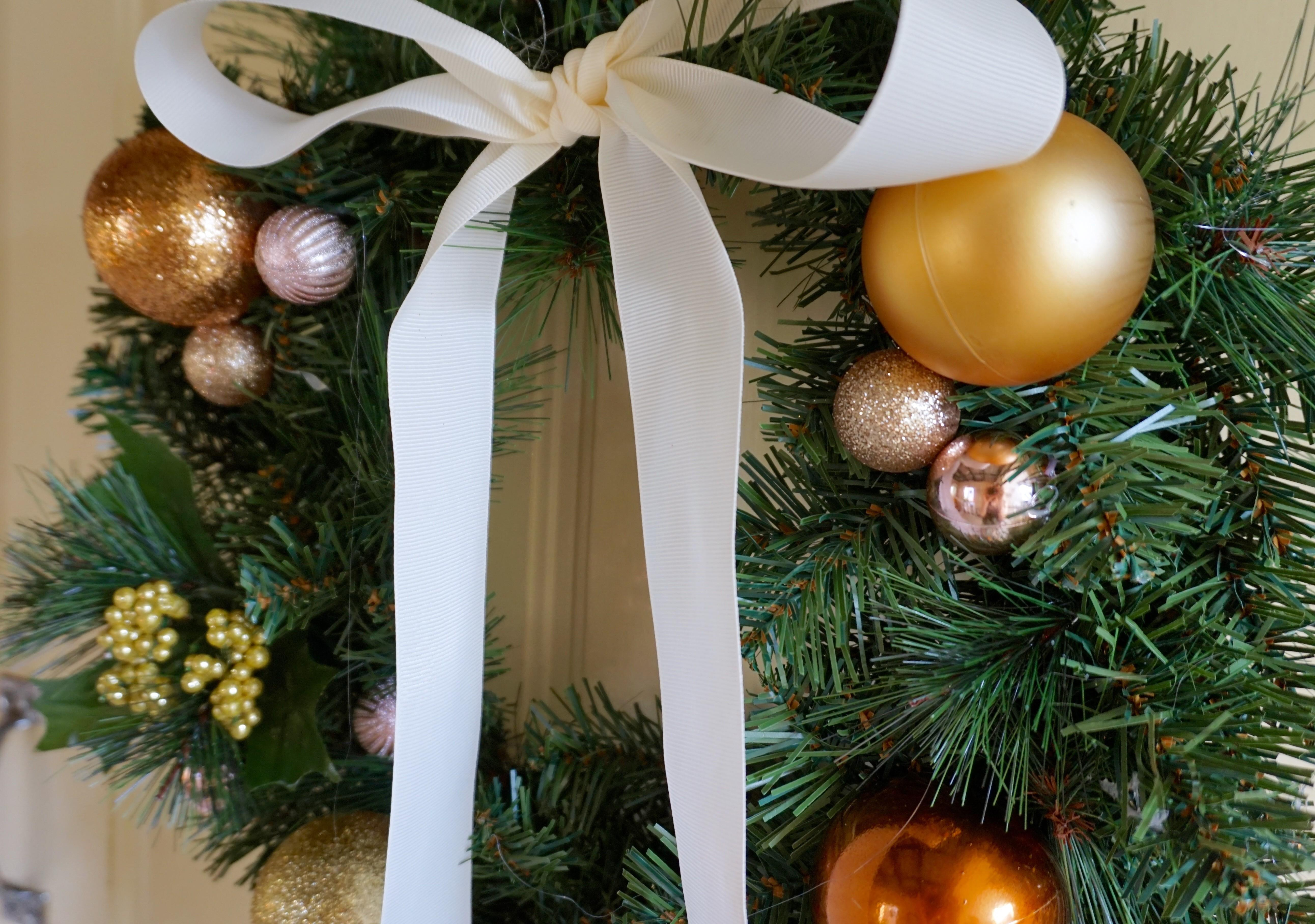 Diy Your Own Christmas Wreath Under Our