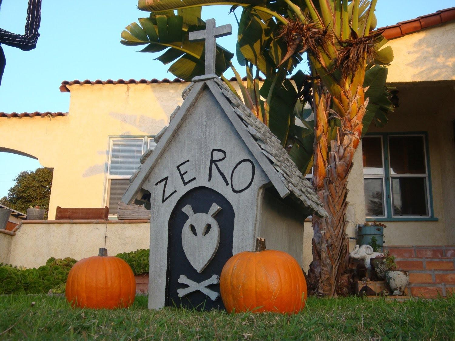Diy Zero Doghouse Nightmare Before Christmas