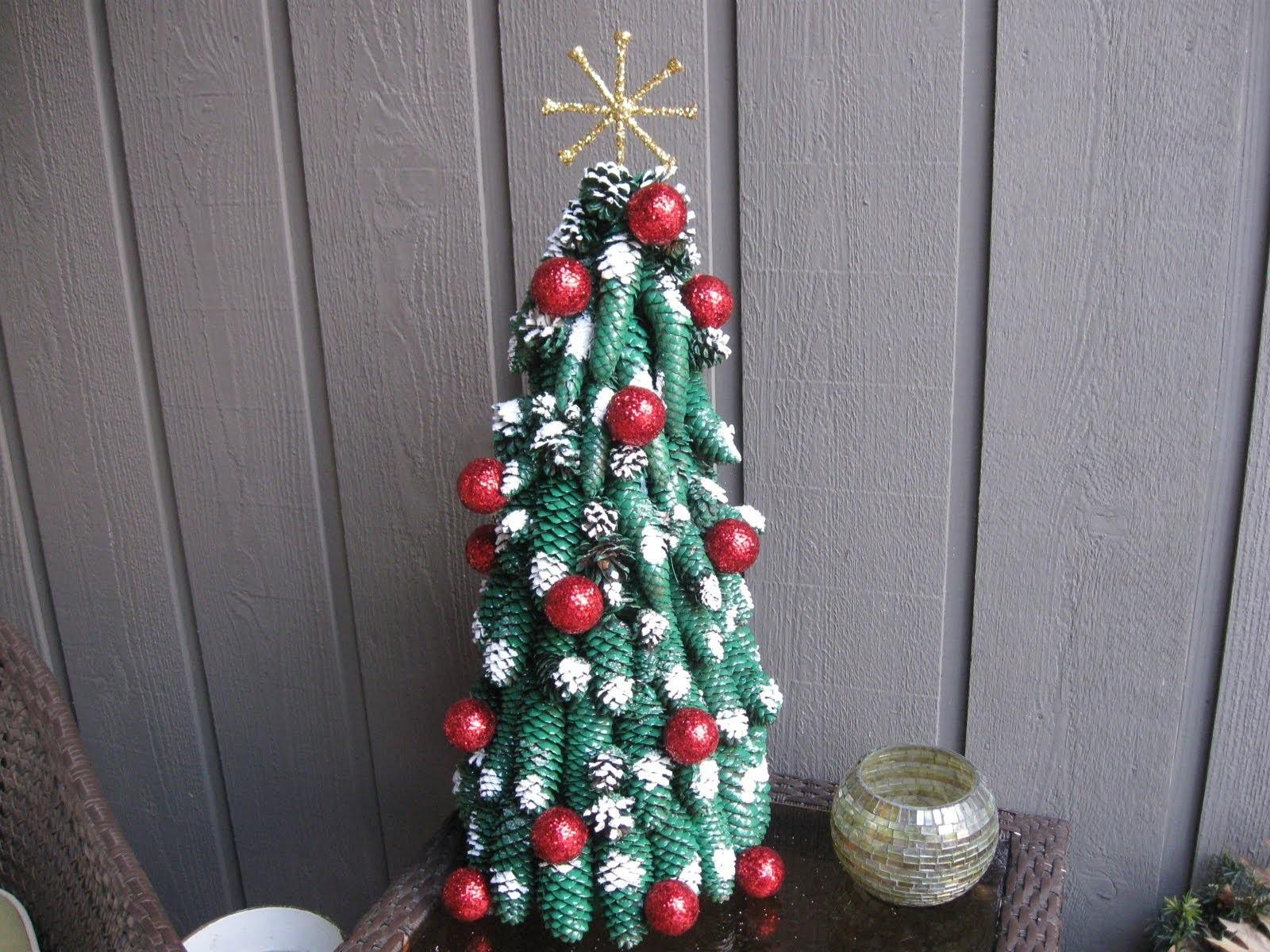 Diys Make Pine Cone Christmas Tree Guide Patterns