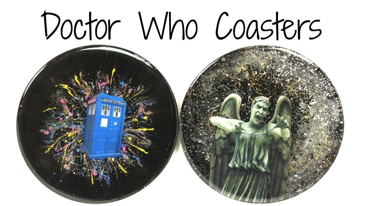 Doctor Diy Tardis Weeping Angel Coasters Another