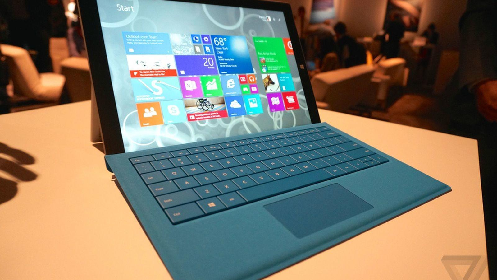 Does Microsoft Surface Pro Stack Apple
