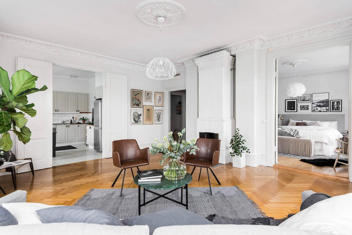 Does Typical Scandinavian Apartment Looks Like