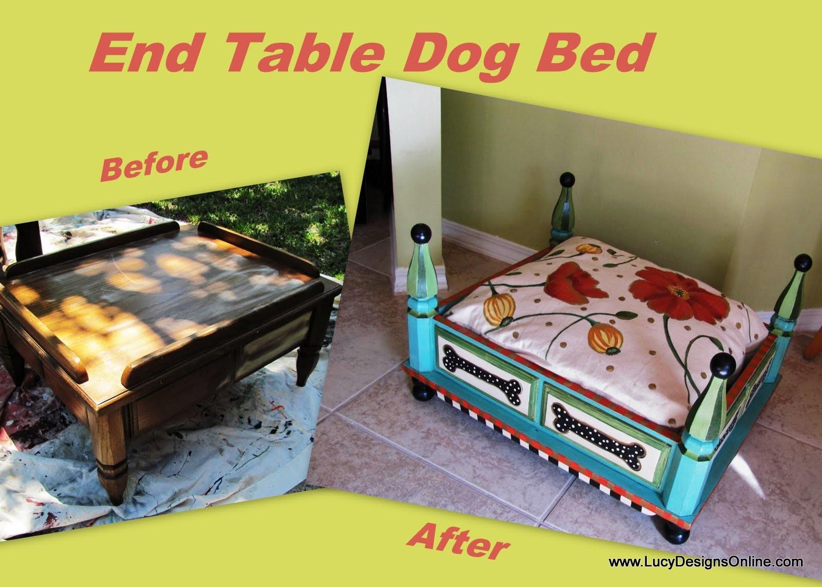 Dog Bed End Table Furniture Beds Costumes