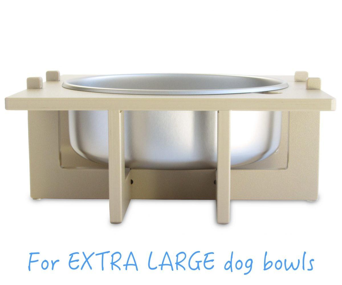 Dog Bowl Stand Diy Cute Triple Large Elevated Dish