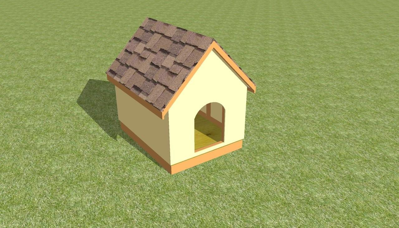 Dog House Plans Howtospecialist Build